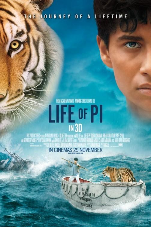 Life of Pi: final poster USA