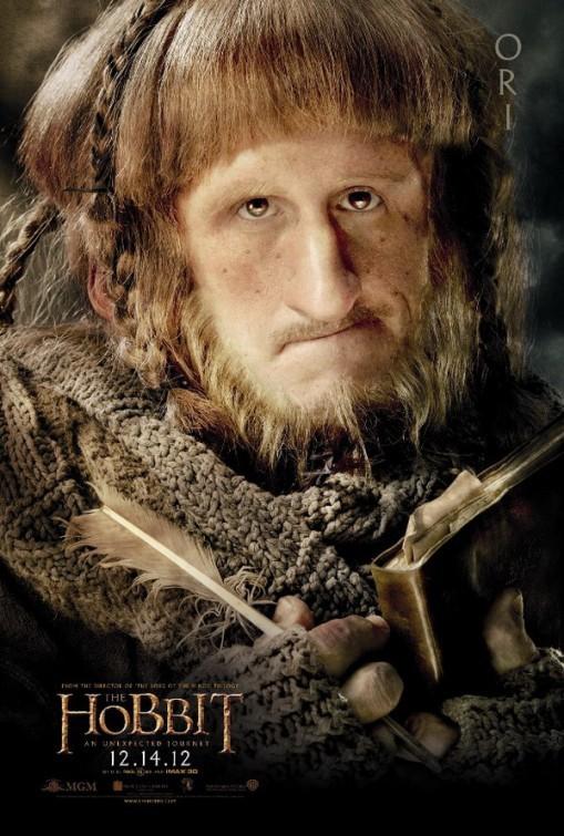 Lo Hobbit - Un viaggio inaspettato: character poster di Adam Brown, alias Ori
