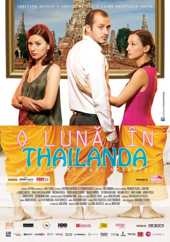 A Month in Thailand: la locandina del film