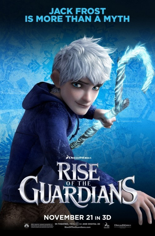 Rise of the Guardians: character poster USA per Jack Frost