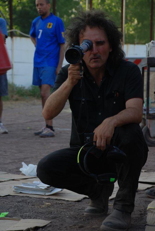 Black Star: il regista del film Francesco Castellani sul set