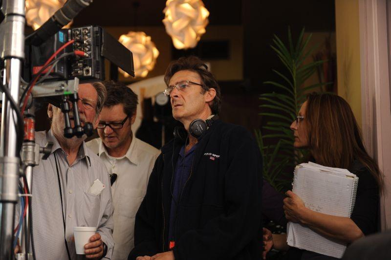 Mental: il regista del film P.J. Hogan sul set