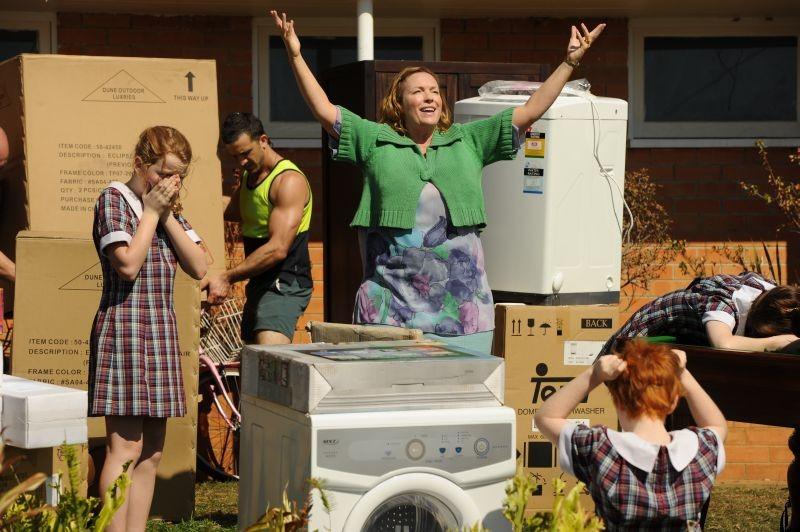 Mental: Rebecca Gibney in una scena del film