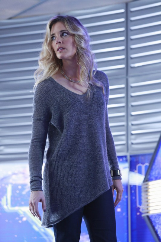 Christina Moore in una scena dell'episodio The Final Frontier della serie Castle - Detective tra le righe