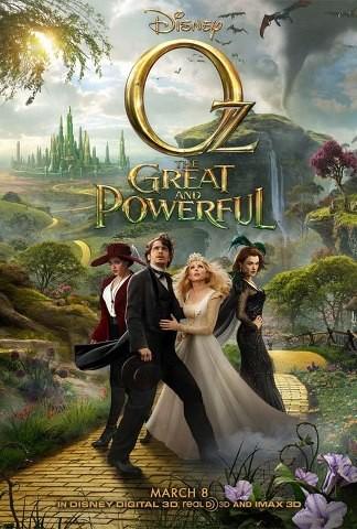Il grande e potente Oz: ecco la locandina che raccoglie tutti i protagonisti