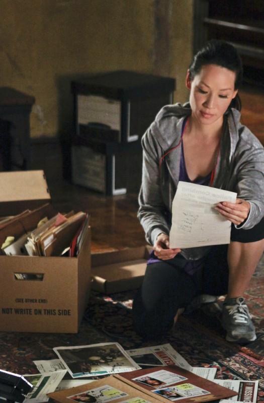 Lucy Liu in una scena dell'episodio Child Predator della prima stagione di Elementary