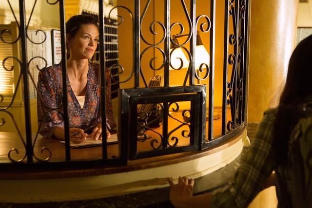 Lydia Hull in una scena dell'episodio Swan Song della serie Castle - Detective tra le righe