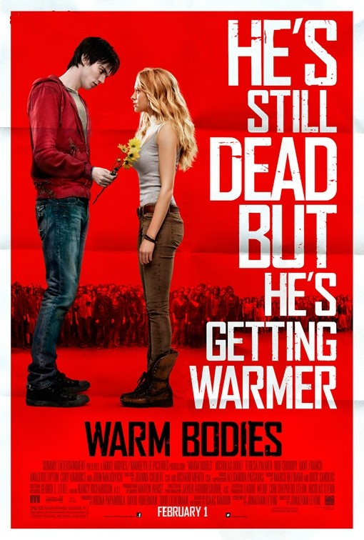 Warm Bodies: una nuova locandina