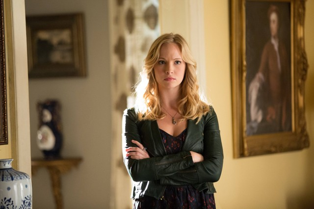 Candice Accola in una scena dell'episodio The Killer della quarta stagione della serie televisiva The Vampire Diaries
