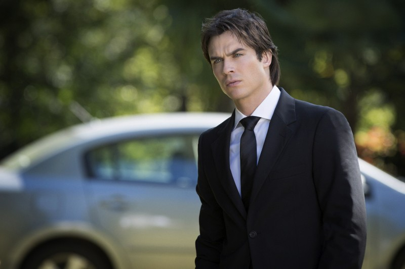 Ian Somerhalder in una scena dell'episodio My Brother's Keeper della serie televisiva The Vampire Diaries