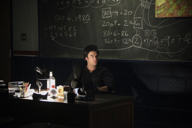 Ian Somerhalder in un momento dell'episodio We All Go a Little Mad Sometimes della serie TV The Vampire Diaries
