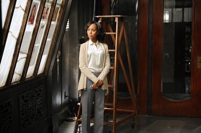 Kerry Washington in una scena dell'episodio All Roads Lead to Fitz della seconda stagione di Scandal