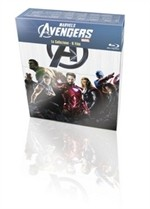 La copertina di Marvel's The Avengers - La collezione (blu-ray)