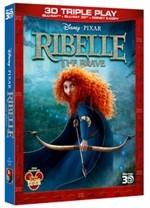 La copertina di Ribelle - The Brave 3D (blu-ray)