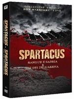 La copertina di Spartacus: Sangue e sabbia & Gli dei dell'arena (dvd)