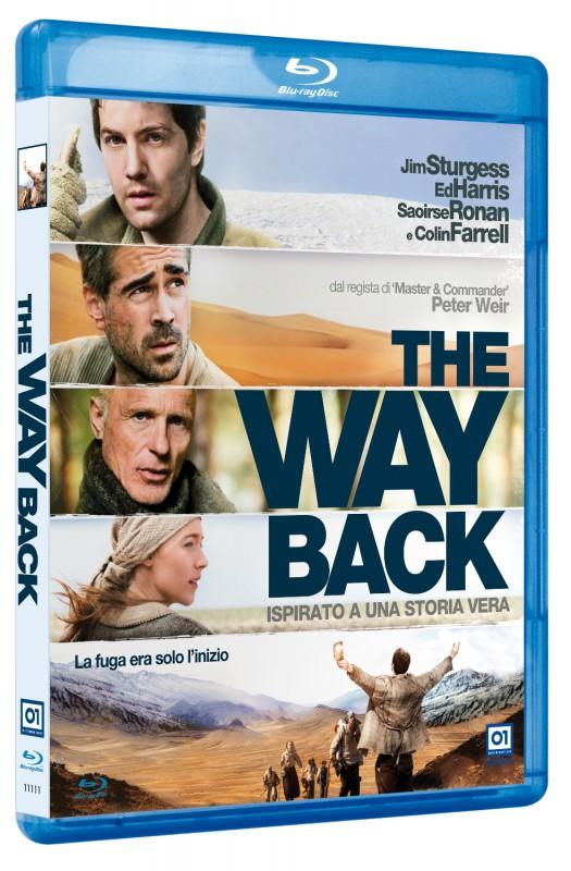 La copertina di The Way Back (blu-ray)