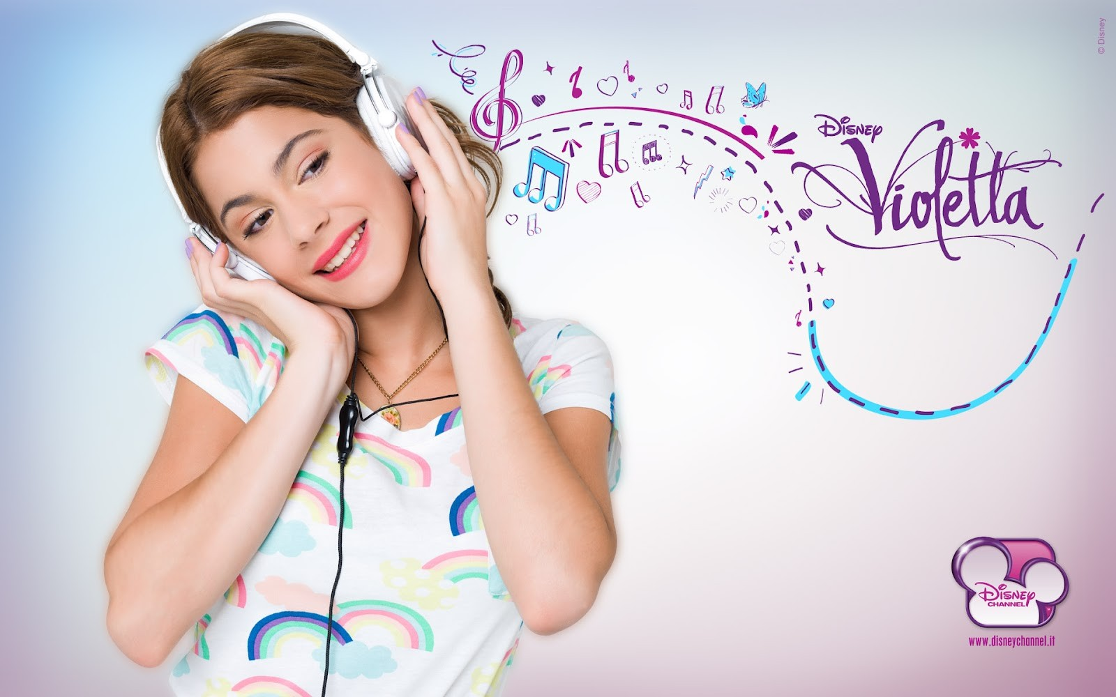 Violetta: un wallpaper della serie Disney Channel