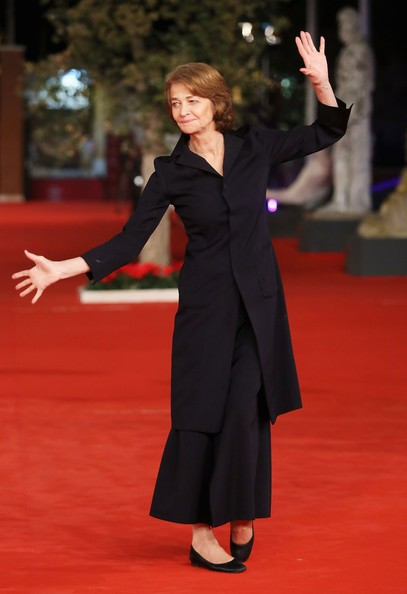 Charlotte Rampling a Roma 2012 per presentare Tutto parla di te