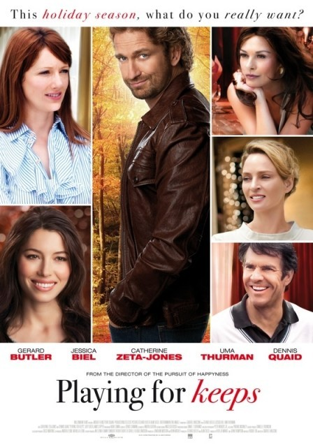 Playing for Keeps: nuovo poster USA