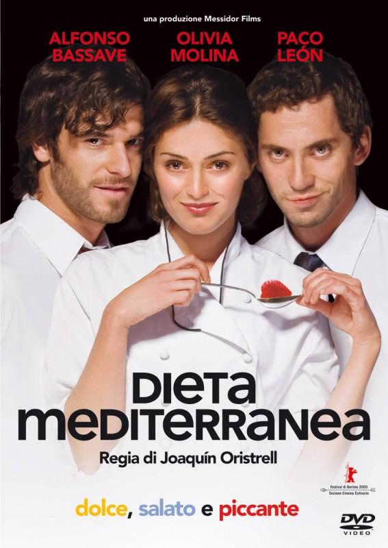 La copertina di Dieta mediterranea (dvd)