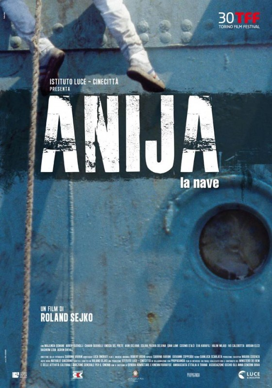 Anija - La nave: la locandina del film