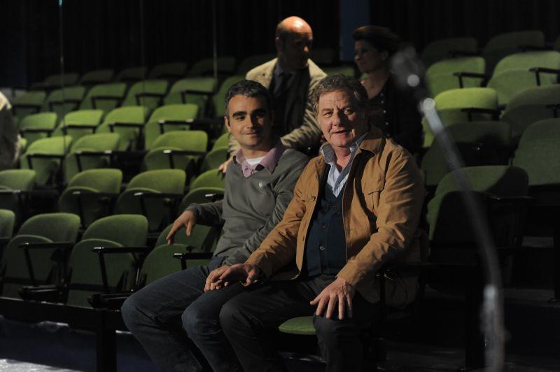 Ci vediamo a casa: Antonello Fassari in una scena del film