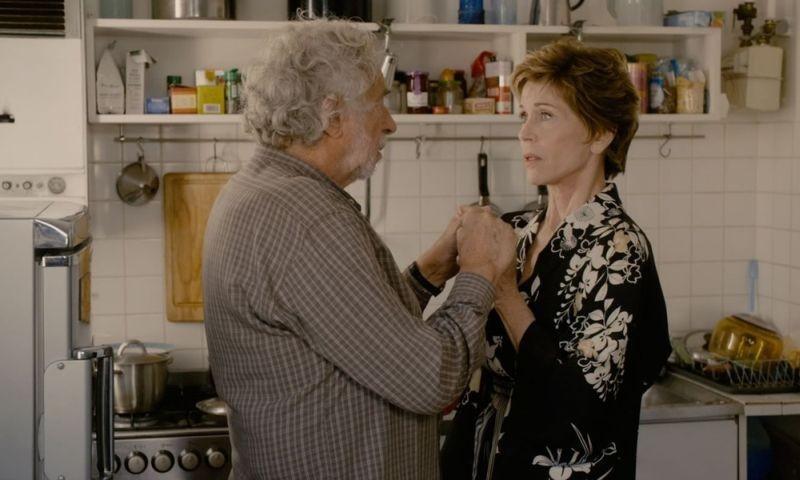E se vivessimo tutti insieme?: Jane Fonda e Pierre Richard in una scena