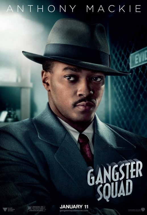 Gangster Squad: character poster per Anthony Mackie