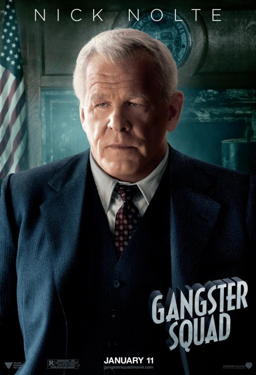 Gangster Squad: character poster per Nick Nolte