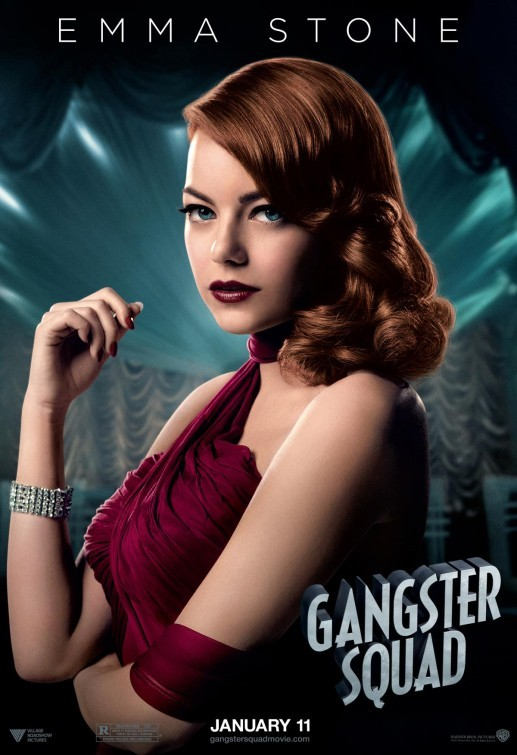 Gangster Squad: nuovo character poster per Emma Stone