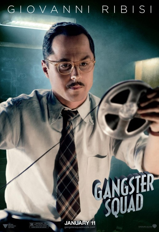 Gangster Squad: nuovo character poster per Giovanni Ribisi