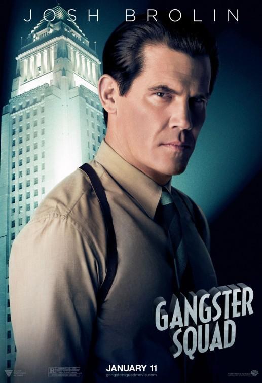 Gangster Squad: nuovo character poster per Josh Brolin