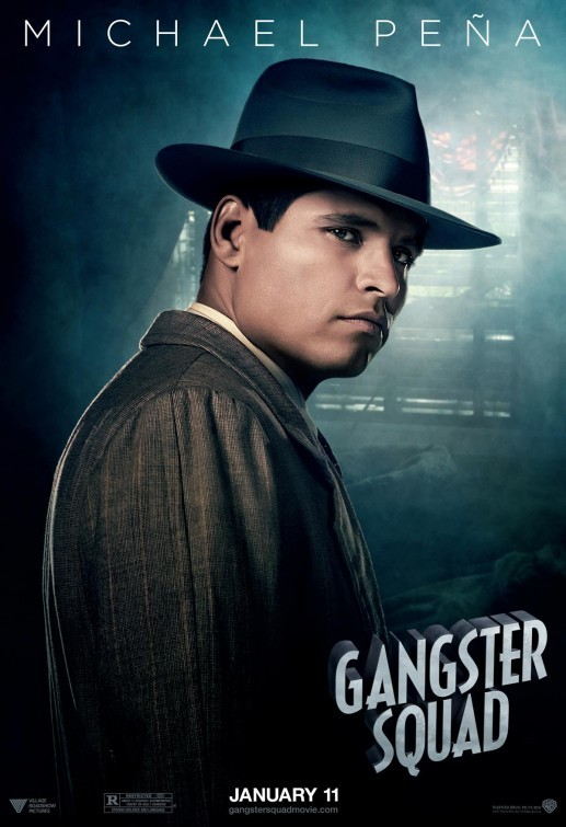 Gangster Squad: nuovo character poster per Michael Peña