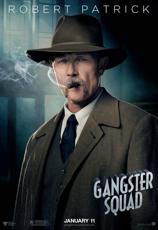 Gangster Squad: nuovo character poster per Robert Patrick