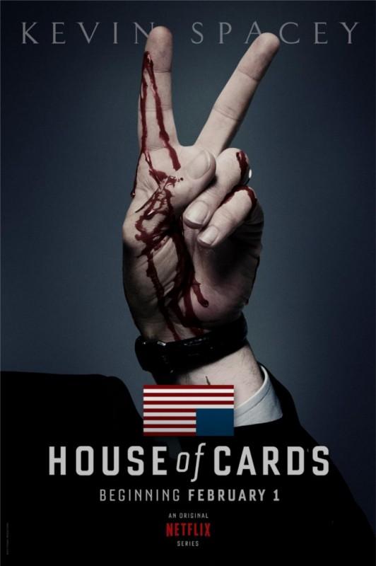 House of Card: ecco la prima locandina della serie tv in onda su Netflix