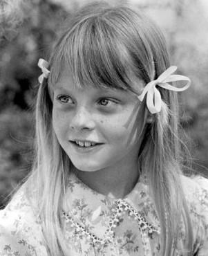 Jodie Foster nel film Tom Sawyer, del 1973