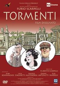 La copertina di Tormenti - Film disegnato (dvd)