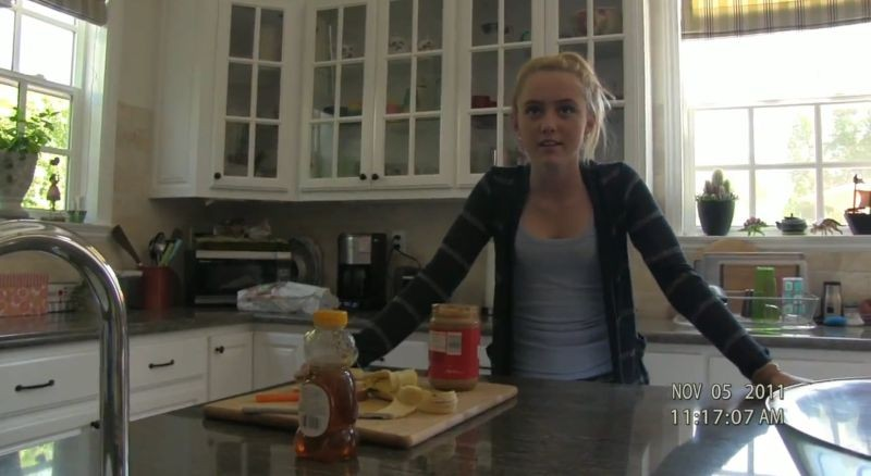 Paranormal Activity 4: Kathryn Newton in un'immagine tratta dal film