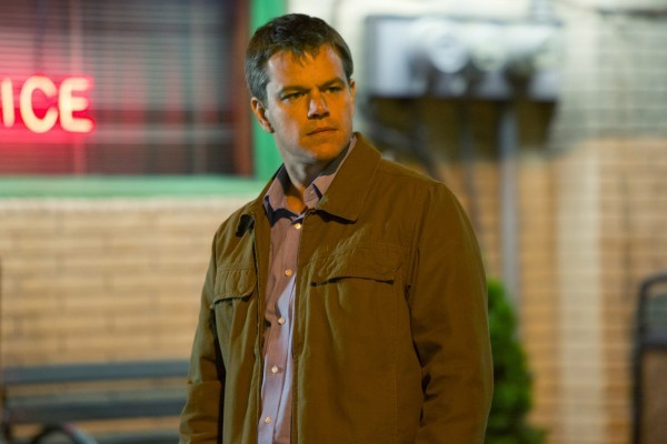 Promised Land: un bel primo piano di Matt Damon nel film