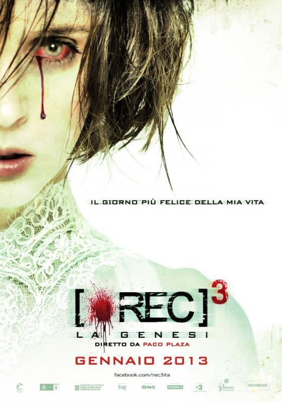[REC]³ Génesis: la locandina italiana del film