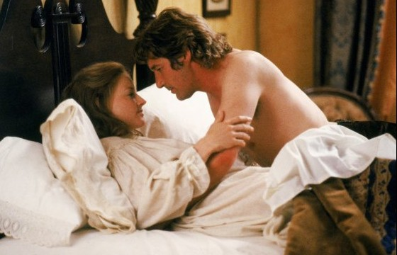 Richard Gere con Jodie Foster in Sommersby