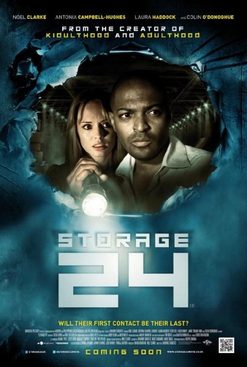 Storage 24: la locandina del film