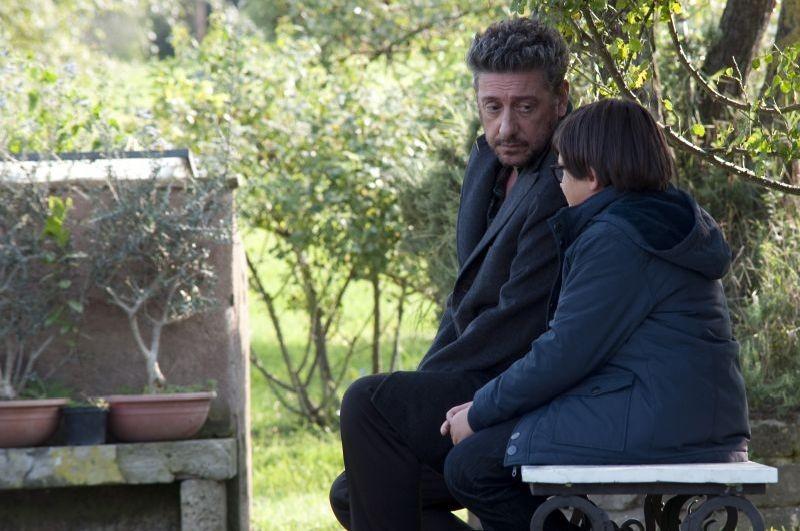 Una famiglia perfetta: Sergio Castellitto e Giacomo Nasta in una scena del film