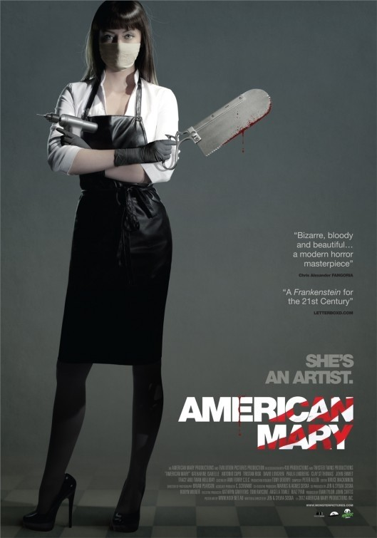 American Mary: la locandina del film