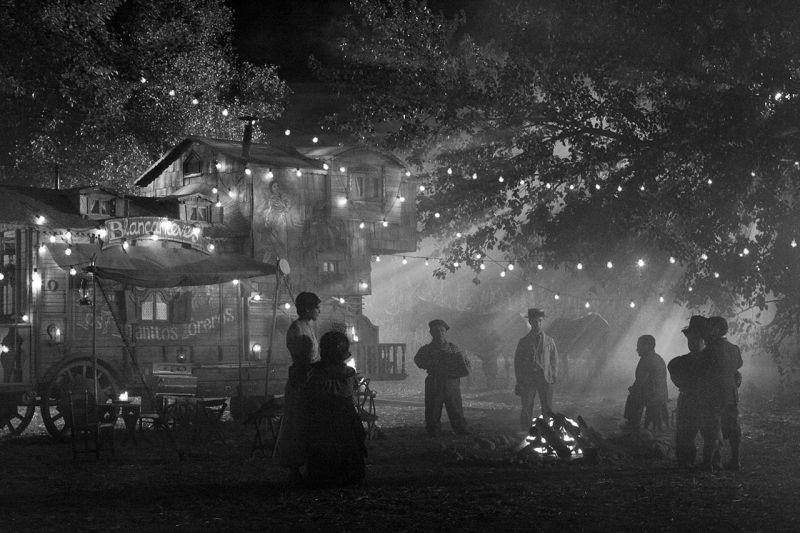 Blancanieves: una scena notturna del film