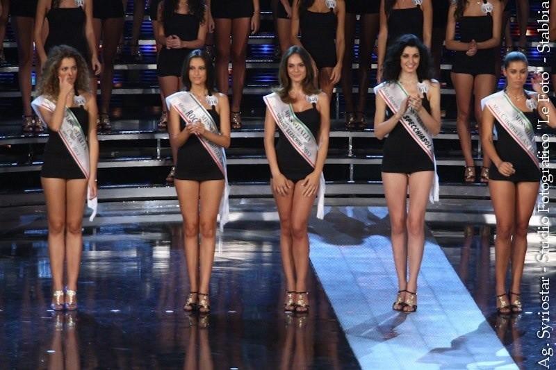 Diletta Innocenti Fagni Miss Ragazza in gambissima Luciano Barachini a Miss Italia 2012