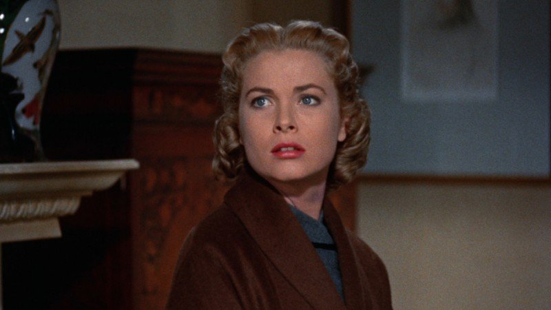 Il delitto perfetto: Grace Kelly in una sequenza del film