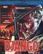 La copertina di Django (blu-ray)