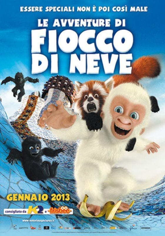 Le avventure di Fiocco di Neve: la locandina italiana del film