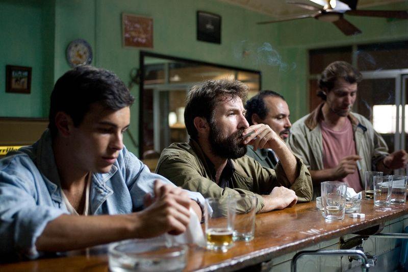 No: una scena di gruppo del film
